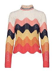 soul stripes sweater - MULTI