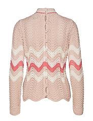 soul stripes sweater - PINK SAND