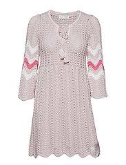 soul stripes dress - PINK SAND