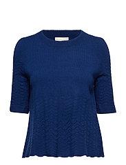 soft pursuit sweater - MIDNIGHT BLUE