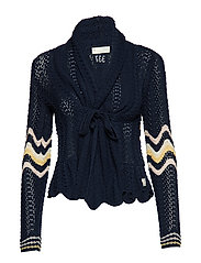 can-can cardigan - DARK BLUE