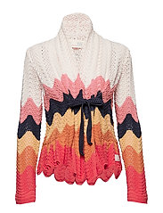 can-can cardigan - MULTI
