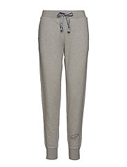 soft tracks sweat pant - LIGHT GREY MELANGE