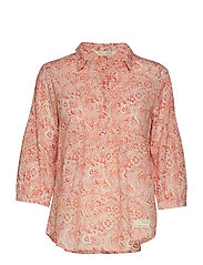 flowering spirit shirt - SEA CORAL