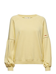 easy rhytm top - LIGHT YELLOW