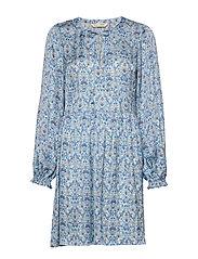 Sensational Short Dress - SPRING BLUE