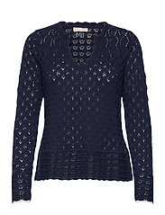 Meryl Sweater - DARK BLUE