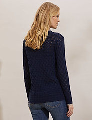 ODD MOLLY - Meryl Sweater - trøjer - dark blue - 4