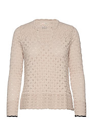 Meryl Sweater - LIGHT PORCELAIN