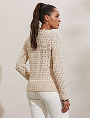 ODD MOLLY - Meryl Sweater - trøjer - light porcelain - 3