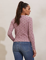 ODD MOLLY - Erin Top - cardigans - pink mauve - 3