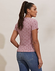 ODD MOLLY - Erin Top - t-shirts - pink mauve - 3