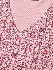 ODD MOLLY - Erin Top - t-shirts - pink mauve - 4