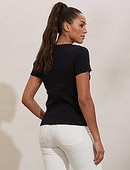 ODD MOLLY - Lynda Top - t-shirts - almost black - 3