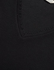 ODD MOLLY - Lynda Top - t-shirts - almost black - 4