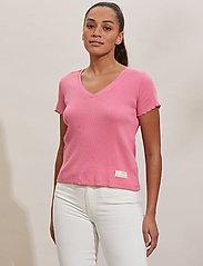ODD MOLLY - Lynda Top - t-shirts - pink confetti - 0