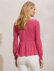 ODD MOLLY - Valerie Top - langærmede bluser - pink fudge - 4