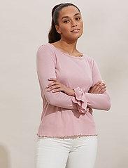 ODD MOLLY - Gladys Top - langærmede bluser - pink mauve - 0