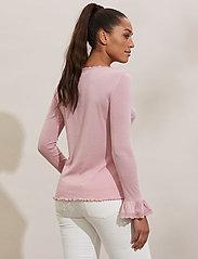 ODD MOLLY - Gladys Top - langærmede bluser - pink mauve - 3