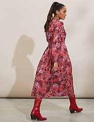 ODD MOLLY - Jacqueline Dress - hverdagskjoler - cranberry - 3