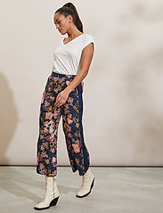 ODD MOLLY - Jacqueline Pants - casual bukser - deep navy - 0