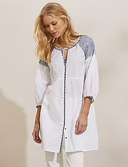 ODD MOLLY - Jill Dress - sommerkjoler - bright white - 0