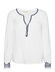Jill Blouse - BRIGHT WHITE