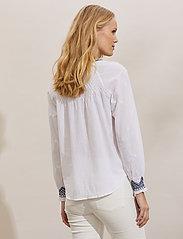 ODD MOLLY - Jill Blouse - langærmede bluser - bright white - 3