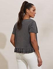 ODD MOLLY - Sally Top - t-shirts - asphalt - 4