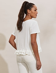 ODD MOLLY - Sally Top - t-shirts - light chalk - 3