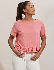 ODD MOLLY - Sally Top - t-shirts - pink dream - 0