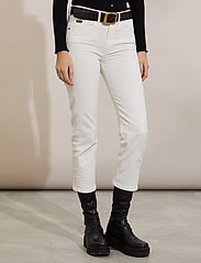 ODD MOLLY - Louise Pants - slim fit bukser - offwhite - 0