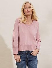 ODD MOLLY - Joni Sweater - trøjer - pink mauve - 0