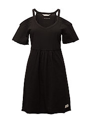 power lover dress - ALMOST BLACK