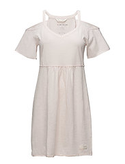 power lover dress - SOFT ROSE