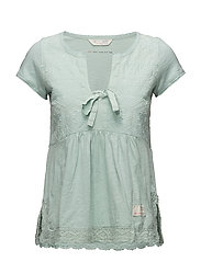 lets love s/s top - MISTY GREEN