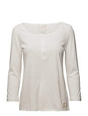 gimme love l/s top - LIGHT CHALK