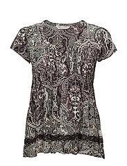 beauty call blouse - ASPHALT