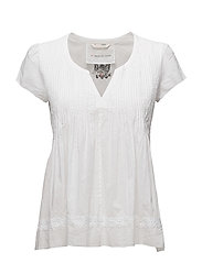 beauty call blouse - BRIGHT WHITE
