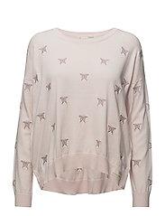 happyness sweater - SOFT ROSE