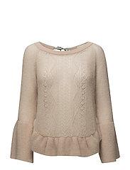 choice maker sweater - GOLDEN PORCELAIN