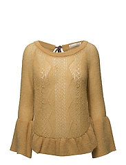 choice maker sweater - HONEY GOLD