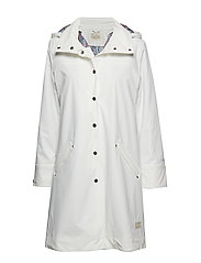 outstanding rainjacket - LIGHT CHALK