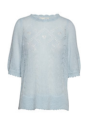 lindy hopping sweater - AIR BLUE