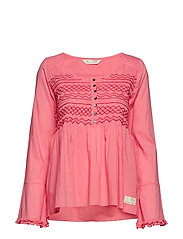 1f329038d2d9d fring swing blouse - BLUSH PINK. NY. ODD MOLLY