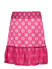 ODD MOLLY - funky belle skirt - lyhyet - dark ruby - 1