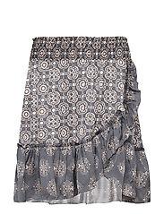 funky belle skirt - DARK SHADOW