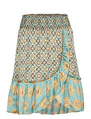 funky belle skirt - EMERALD