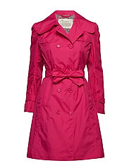 the scoop coat - HOT PINK