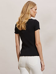 ODD MOLLY - Magda Top - t-shirts - almost black - 4